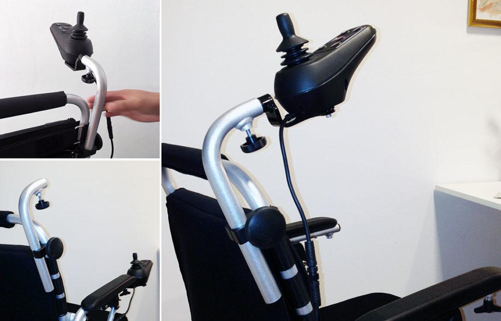Eloflex hopfällbar elrullstol, elektrisk rullstol, vikbar, portabel, lätt, låg vikt, egen bil, flyg, resa, kompakt, smidig