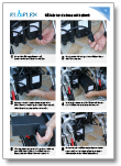 eloflex batteri hopfällbar elrullstol