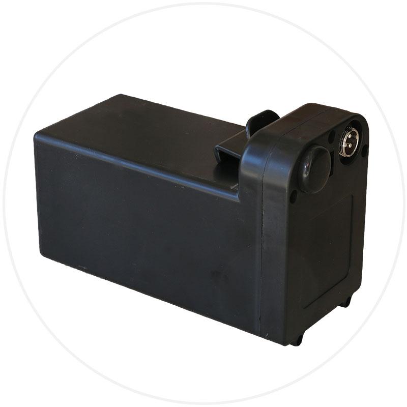 batteri Eloflex hopfällbar elrullstol, elektrisk rullstol, vikbar, portabel, lätt, låg vikt, egen bil, flyg, resa, kompakt, smidig