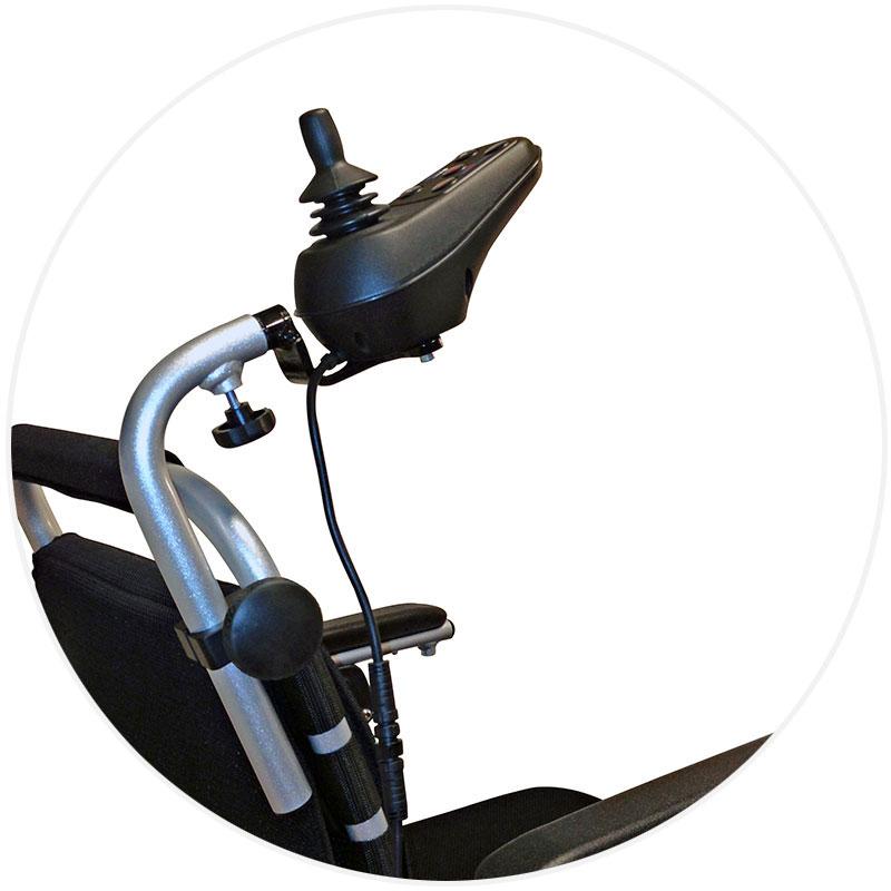 Eloflex tillbehör vårdarstyrning med flexibel placering.