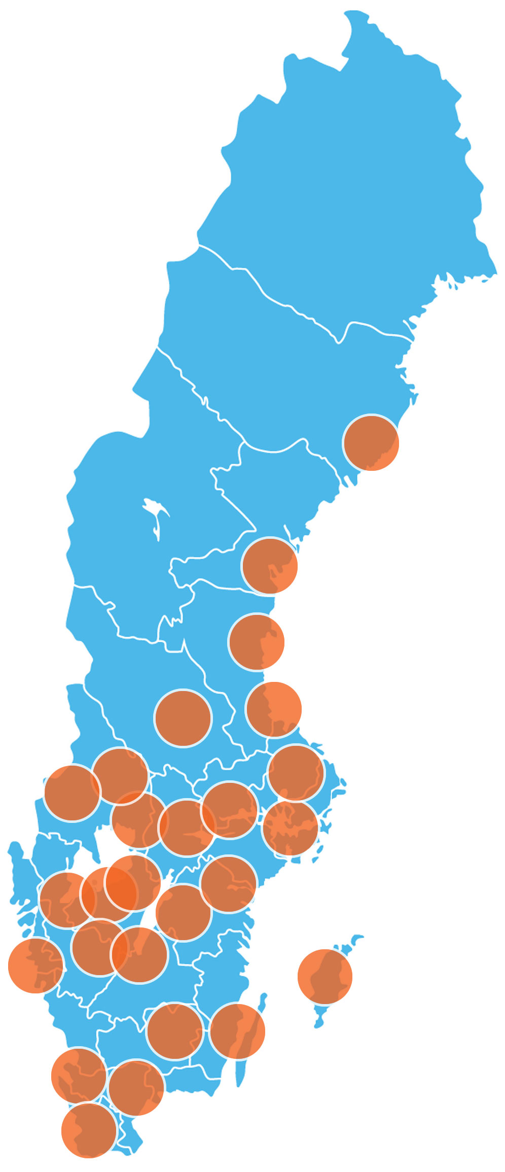 Karta återförsäljare Eloflex